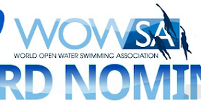 WAVE's CoFounder/CEO Mark Caron nominated for a 2019 World Open Water Swimming Association Award.