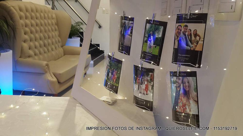 Impresion fotos instagram eventos twitter