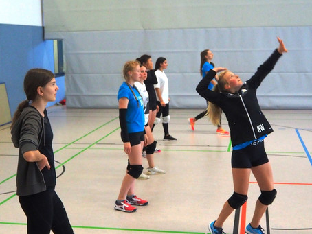 Spaß pur im Volleyball-Trainingslager – die weibliche Jugend  bereitet sich auf die Saison vor!
