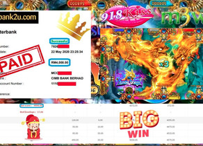Ocean King slot game tips to win RM4000 in 918kiss