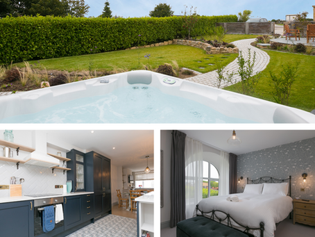 Christmas and New Year availability, including hot tub cottage!
