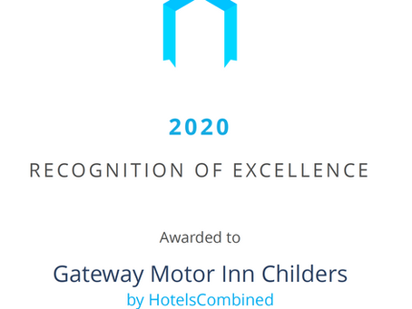 """Hotels Combined """"Recognition of Excellence"""""""