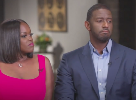 Andrew Gillum and Wife Join Tamron Hall in A Sit Down Interview; Andrew Comes Out As Bisexual