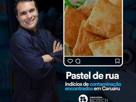 Pastel de feira: estudo aponta índices de contaminação em análises feitas em Caruaru-PE