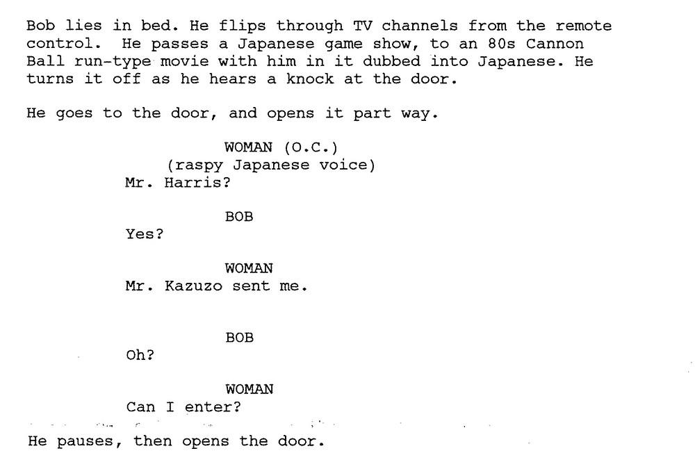 Lost in Translation Script