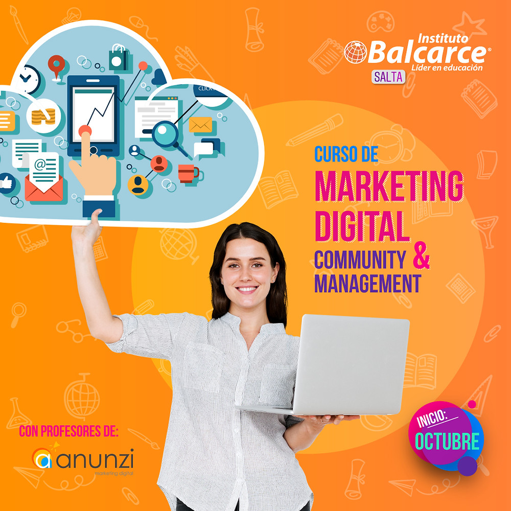 curso de marketing digital community manager salta capital