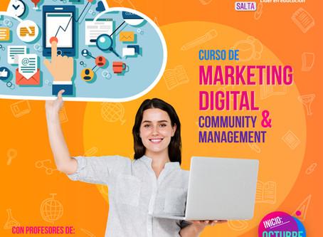 Nuevo curso de Community y Marketing ¡En Octubre!