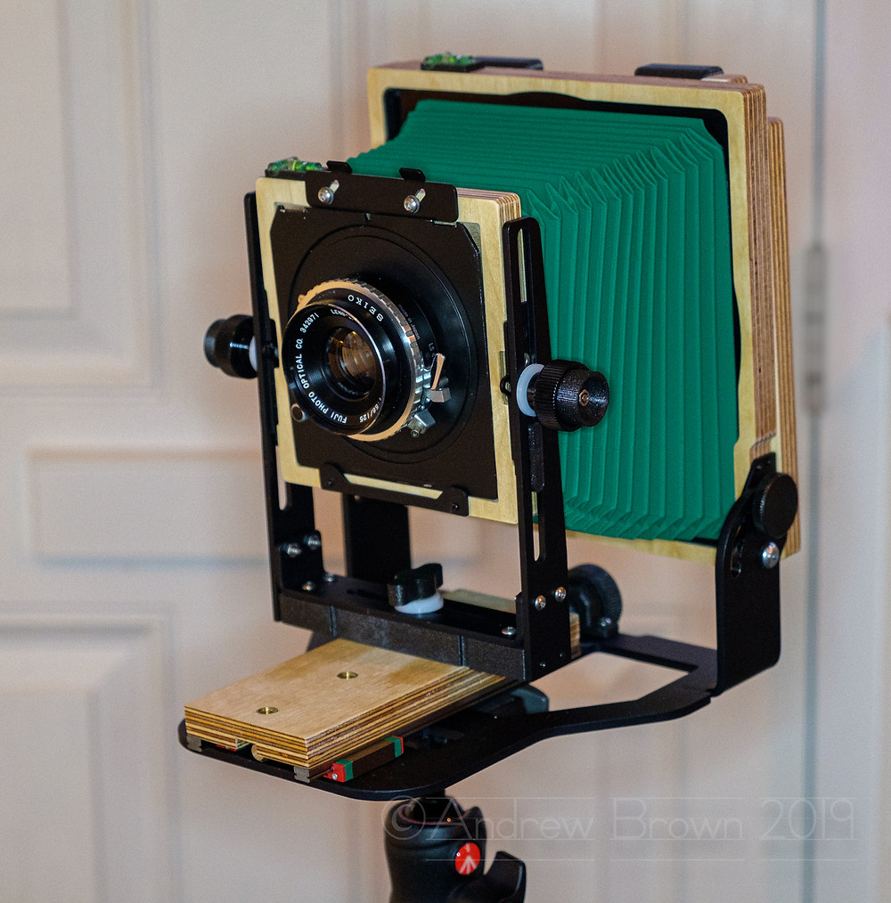 My brand new large format camera