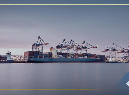 Los principales puertos de México.