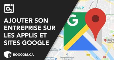 """Comment ajouter un commerce avec """"My business"""",Google Map et Google Places. Faire du référencement"""