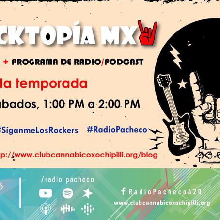 ROCKTOPÍA MX - Entrevista: #AlmaDePerrocker #AlAire 🎧🎙🎚