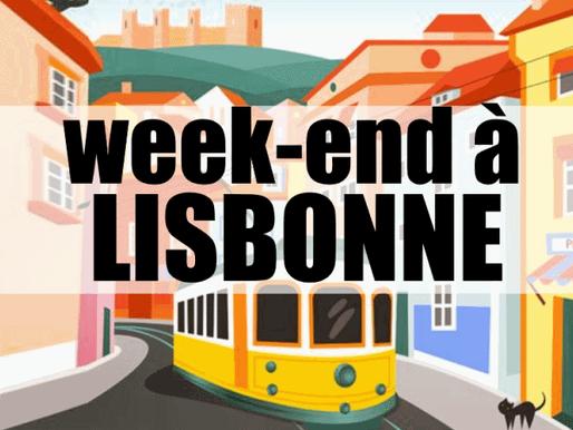 3 jours à Lisbonne au Portugal