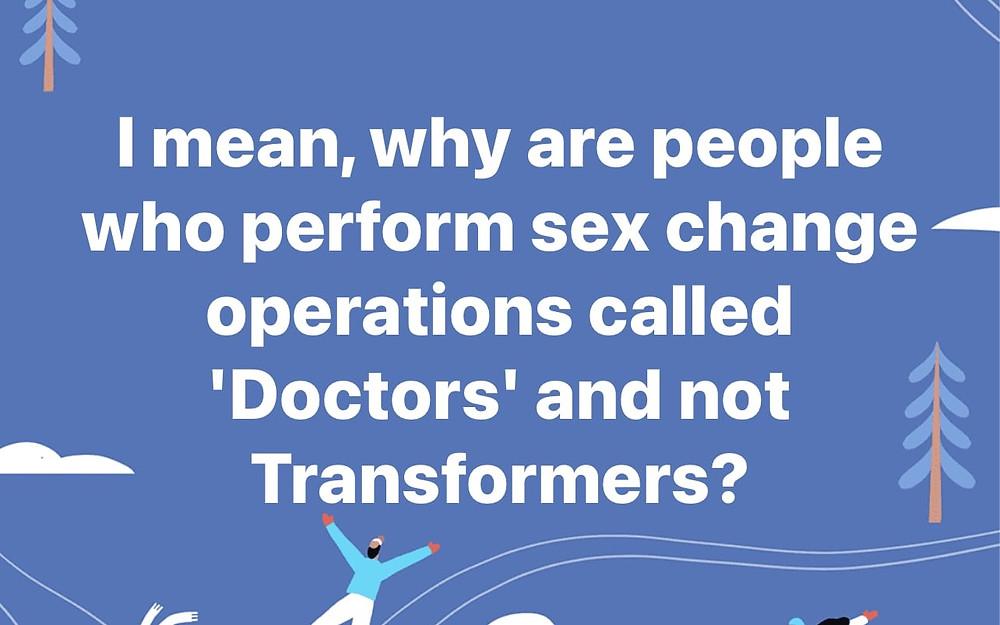 Funny Sex Change Meme