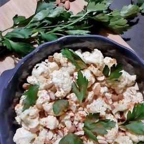 Chou-fleur rôti aux épices Tandoori