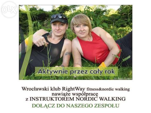 Poszukujemy Instruktora Nordic Walking