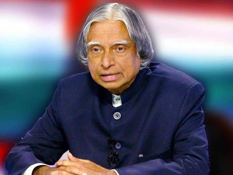 My Favourite Leader – Dr.APJ Abdul Kalam