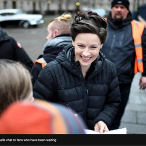 Outlander S4 filming in Glasgow