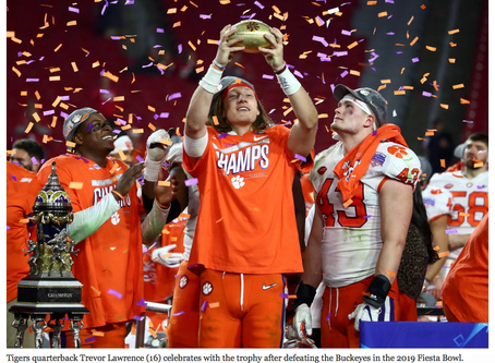 Clemson Beats Ohio State in Fiesta Bowl