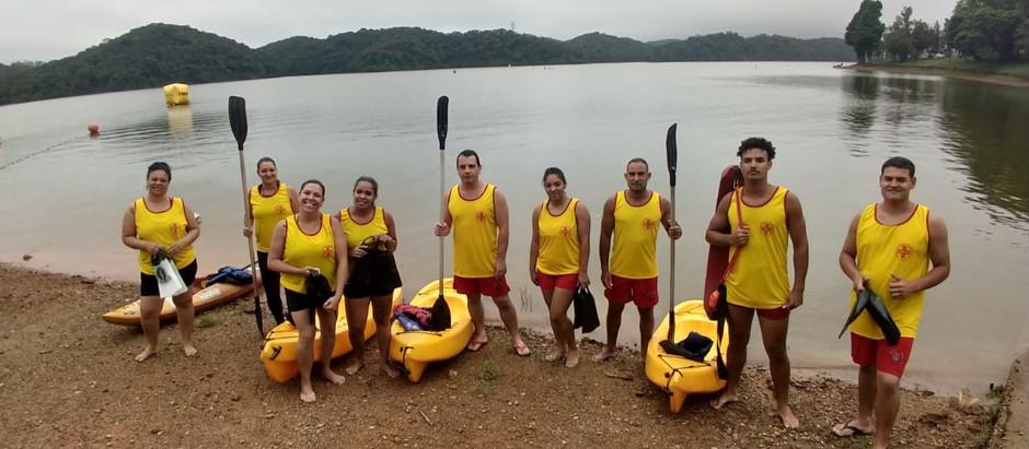 Curso de Guarda-Vidas da BUSF-Brasil em Nova Etapa de Instrução para os Alunos da Turma Alpha.