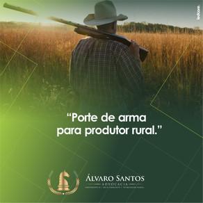 Porte de arma para Produtor Rural