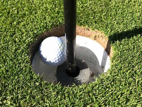 Ingen oro på golfbanorna