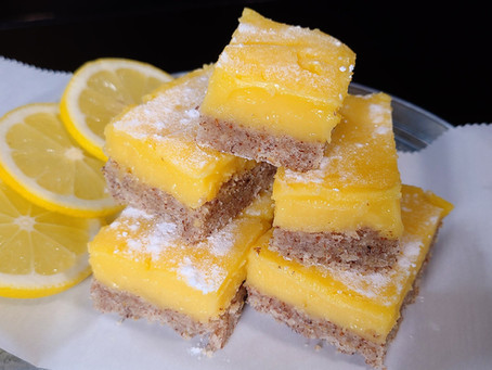 Keto Lemon Bar Recipe