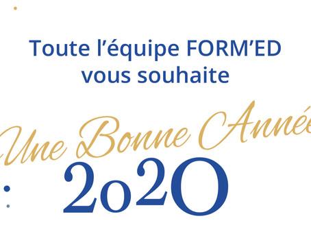 2020, nouvelle année et nouvelles formations