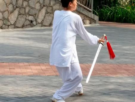 Tai Chi Sword (taiji jian)
