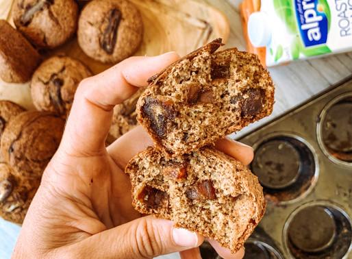 Whole Wheat & Oat Date Muffins