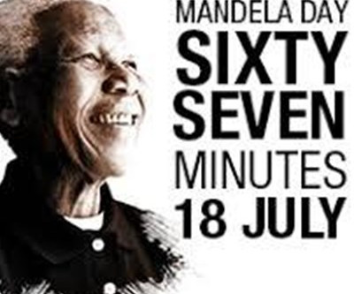 What are you doing to make the world a better place?  ...Mandela Day 2019