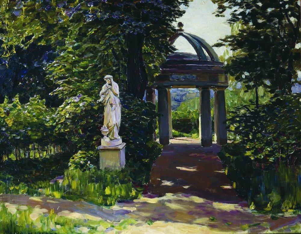 Ротонда Миловида в Найденовском парке. Москва  (1920-е)