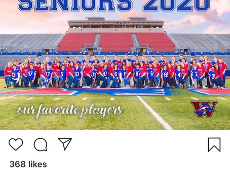 2020 Seniors Salute Westlake Moms