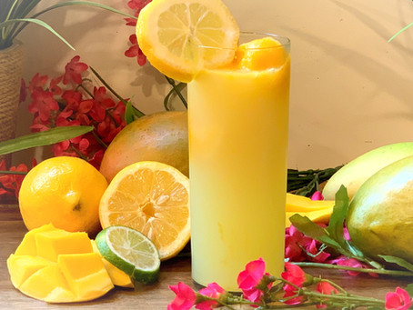 Mango Lemonade 4 ways to enjoy!