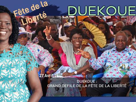 DUEKOUE : GRAND DEFILE DE LA FÊTE DE LA LIBERTÉ