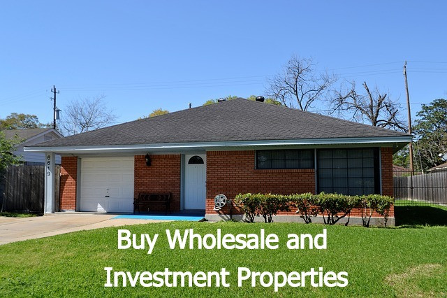 Buy Wholesale and Investment Houses Call Us @ (281) 972-4555