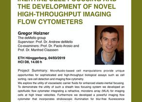 PhD public presentation by Gregor Holzner