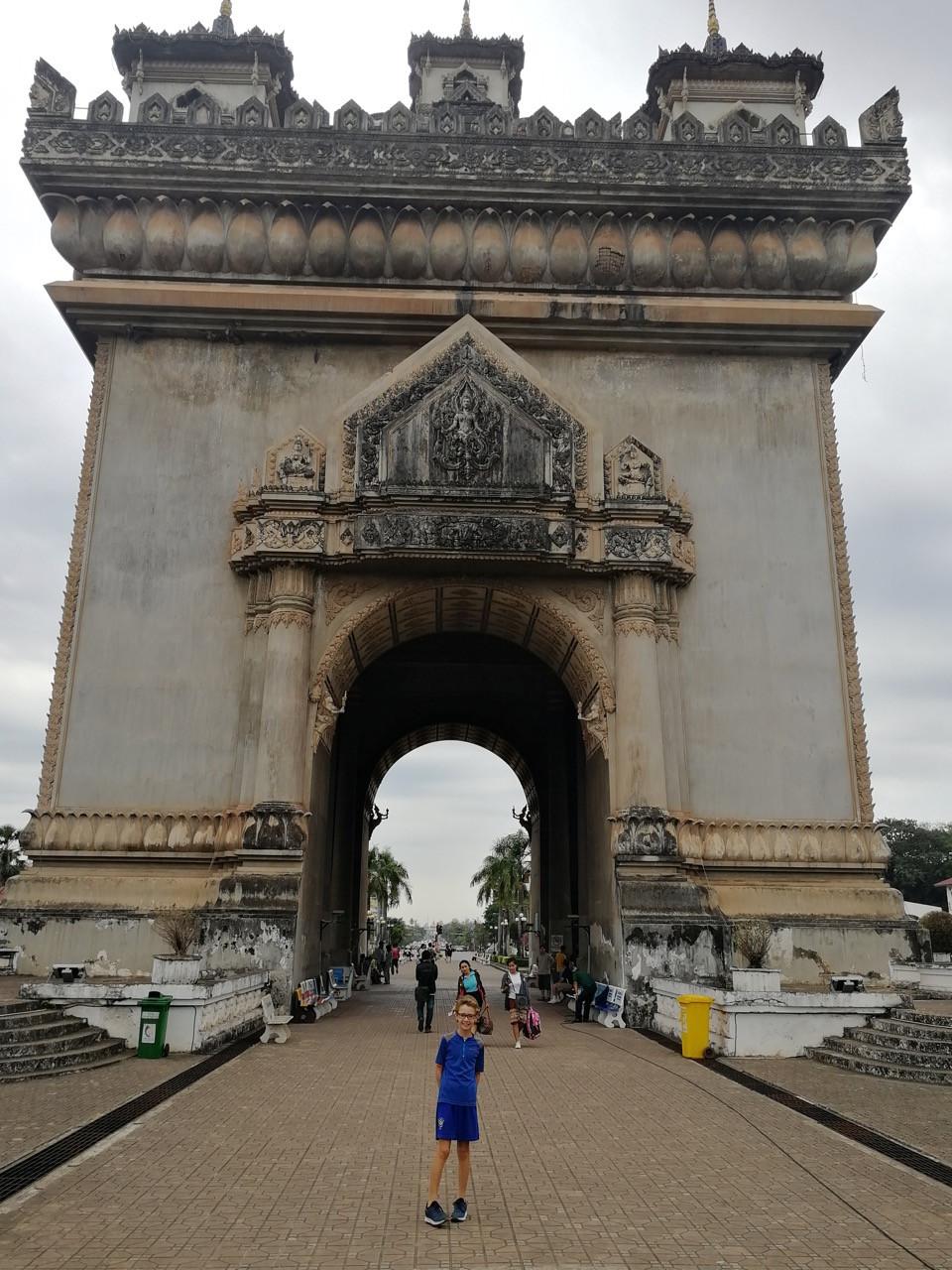 Tour du monde à vélo en famille 2018-2019 : Laos-Thaïlande