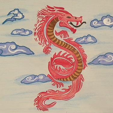 Sarah, Chinese dragon Symbol