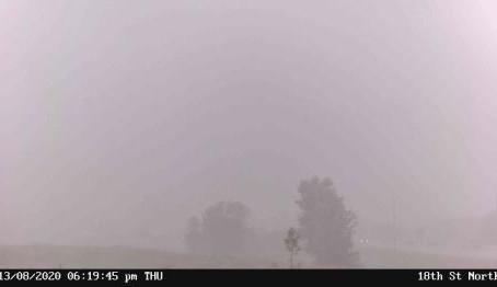 Tornado-warned storm slams Brandon, MB