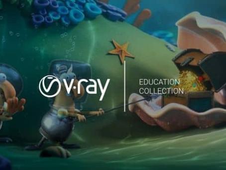 Chaos Group V-Ray Eğitim Koleksiyonunu Tanıttı