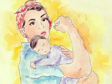 Ser mãe feminista