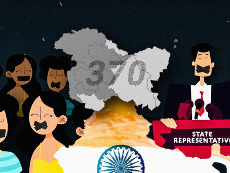 REVOCATION OF ARTICLE 370: TOWARDS NATION'S WELFARE OR A POLITICAL AGENDA