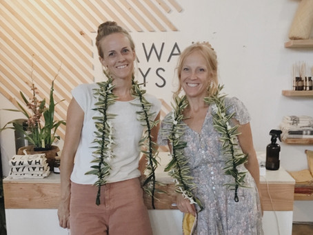 Kristy Maligro and Ariana Owen of Clean Kaua'i