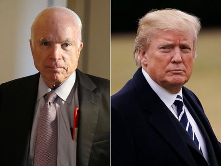 U.S. Navy Hid USS John McCain from Trump
