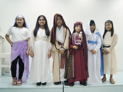 Bible Costume Character Parade 2019