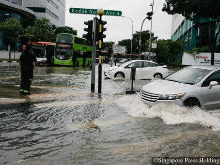 How do you figure out whether to drive through a flash flood or not?