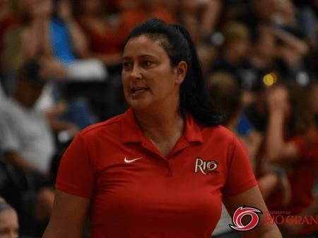 Coaching Rio Grande Women's Volleyball.