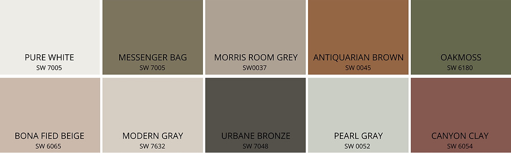 warm neutrals and natural tones connect us to nature