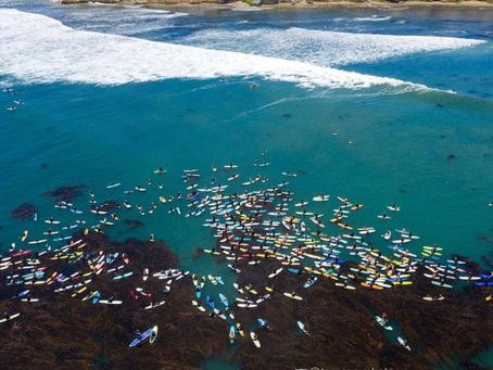 A Paddle Out For Peace