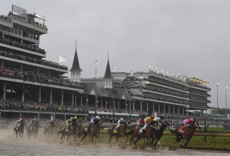 The 2019 Kentucky Derby drew 150,729 fans to famed Churchill Downs